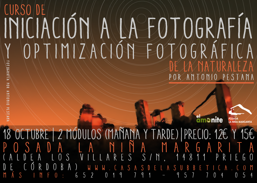 Cartel Taller de fotografía de naturaleza WEB