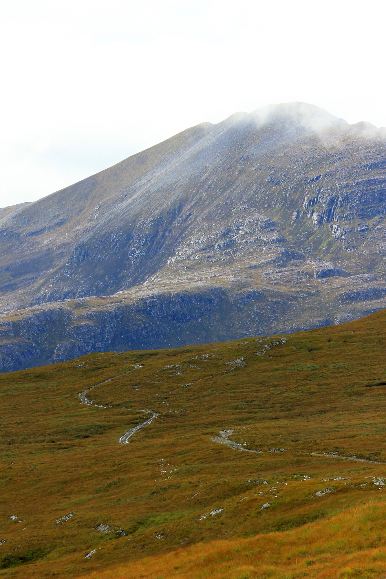 Sendero montañés