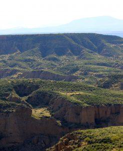 Terrero característico en Guadix